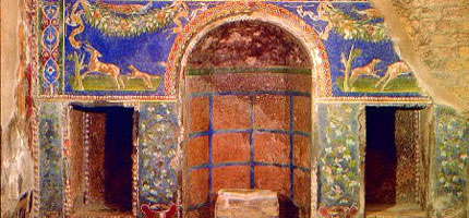 Herculaneum - well-preserved mosaic